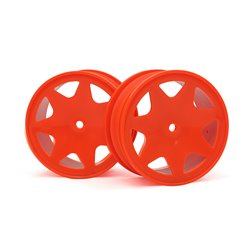 Hpi Racing  ULTRA 7 WHEELS ORANGE 30MM (2PCS 100622