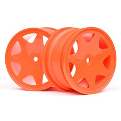 Hpi Racing  ULTRA 7 WHEELS ORANGE 35MM (2PCS) 100623