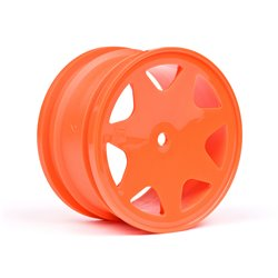 Hpi Racing  ULTRA 7 WHEELS ORANGE 35MM (2PCS) 100623 2