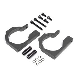 Hpi Racing  MOTOR MOUNT PLATE 8MM (GRAY) 100903 2