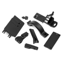 Hpi Racing  BATTERY BOX MOUNT/COVER SET 100909