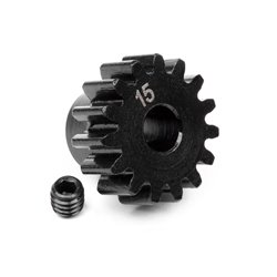 Hpi Racing  PINION GEAR 15 TOOTH (1M/5mm SHAFT) 100914