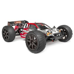 Hpi Racing  Clear Trophy Truggy Bodyshell w/Window Masks and Decals 101779