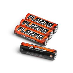 Hpi Racing  HPI PLAZMA 1.5V ALKALINE AA BATTERY (4PCS) 101939