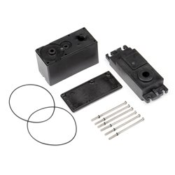 Hpi Racing  HPI SFL-11MG SERVO CASE SET 102773 2
