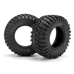 Hpi Racing  MAXXIS TREPADOR BELTED TIRE D COMPOUND (2PCS) 103337