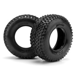 Hpi Racing  ATTK BELTED TIRE D COMPOUND (2PCS) 103346