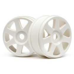 Hpi Racing  V7 WHEEL WHITE (42x83mm/2pcs) 103678