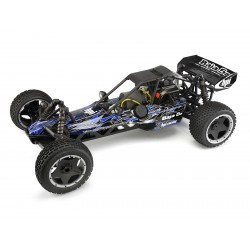 Hpi Racing  BAJA 5B BUGGY TRIBAL PAINTED BODY (BLUE) 104225