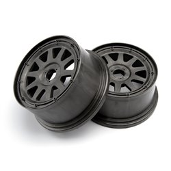 Hpi Racing  TR-10 WHEEL GUNMETAL (120X60MM/-4MM OFFSET) 104972 2
