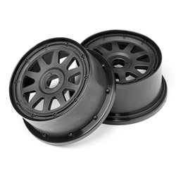 Hpi Racing  TR-10 WHEEL BLACK (120x60mm/-4mm OFFSET) 104975