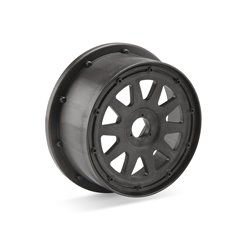Hpi Racing  TR-10 WHEEL GUNMETAL (120X65MM/-10MM OFFSET) 104976 2