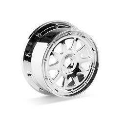 Hpi Racing  TR-10 WHEEL CHROME (120x65mm/-10mm OFFSET) 104977 2
