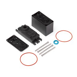 Hpi Racing  HPI SF-50WP SERVO CASE SET 105367