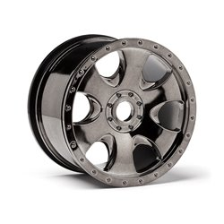 Hpi Racing  WARLOCK WHEEL BLACK CHROME (83X56MM/2PCS) 105801 2