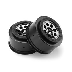 Hpi Racing  MK.8 V2 WHEEL BLACK CHROME (4.5MM OFFSET/2PCS) 106191