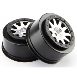 Hpi Racing  MK.10 V2 WHEEL MATT CHROME (4.5MM OFFSET/2PCS) 106200