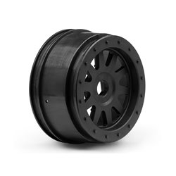 Hpi Racing  TR-10 GLUE-LOCK WHEEL BLACK (120X60MM/2PCS) 106896 2