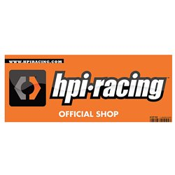 Hpi Racing  HPI LOGO SMALL WINDOW STICKER - DOUBLE SIDED 107182