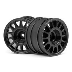 Hpi Racing  WR8 RALLY OFF-ROAD WHEEL BLACK (48X33MM/2PCS) 107970