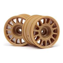 Hpi Racing  WR8 RALLY OFF-ROAD WHEEL BRONZE (48X33MM/2PCS) 107971