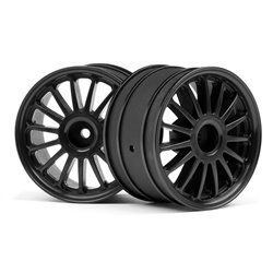 Hpi Racing  WR8 TARMAC WHEEL BLACK (2.2&quot/57X35MM/2PCS) 107972
