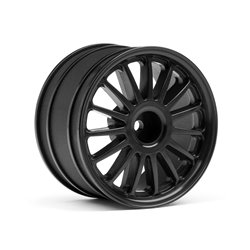 Hpi Racing  WR8 TARMAC WHEEL BLACK (2.2&quot/57X35MM/2PCS) 107972 2