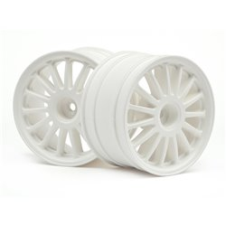 Hpi Racing  WR8 TARMAC WHEEL WHITE (2.2&quot/57X35MM/2PCS) 108075