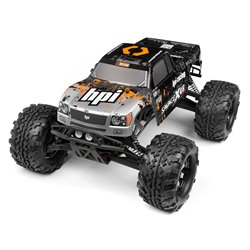 Hpi Racing  NITRO GT-3 TRUCK PAINTED BODY (SILVER/BLACK) 109883