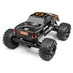 Hpi Racing  NITRO GT-3 TRUCK PAINTED BODY (SILVER/BLACK) 109883 2