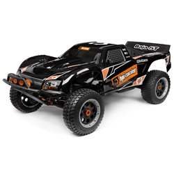 Hpi Racing  BAJA 5T-1 TRUCK PAINTED BODY (BLACK) 110677