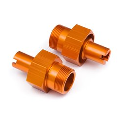Hpi Racing  24MM HD FRONT HEX HUB (ORANGE/2PCS) 112845
