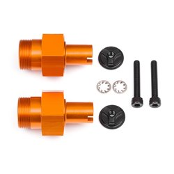 Hpi Racing  24MM HD FRONT HEX HUB (ORANGE/2PCS) 112845 2