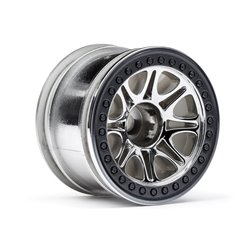 Hpi Racing  SPLIT 8 TRUCK WHEEL (CHROME/2PCS) 113336 2