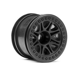 Hpi Racing  SPLIT 8 TRUCK WHEEL (BLACK/2PCS) 113337 2