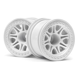 Hpi Racing  SPLIT 8 TRUCK WHEEL (WHITE/2PCS) 113339