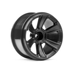 Hpi Racing  6-SHOT MT WHEEL (BLACK/2PCS) 115327 2