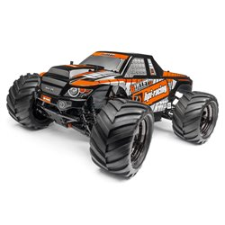 Hpi Racing  TRIMMED AND PAINTED BULLET 3.0 MT BODY (BLACK) 115508