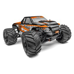 Hpi Racing  TRIMMED AND PAINTED BULLET 3.0 MT BODY (BLACK) 115508 2