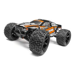 Hpi Racing  TRIMMED AND PAINTED BULLET FLUX ST BODY (BLACK) 115509