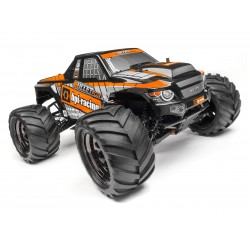 Hpi Racing  TRIMMED AND PAINTED BULLET FLUX MT BODY (BLACK) 115510 2