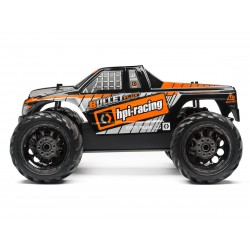 Hpi Racing  BULLET MT CLEAR BODY W/ NITRO/FLUX DECALS 115515 2