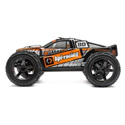 Hpi Racing  BULLET ST CLEAR BODY W/ NITRO/FLUX DECALS 115516 2