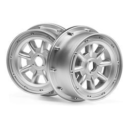 Hpi Racing  ML-8 WHEEL SILVER (120X60MM/2PCS) 115765