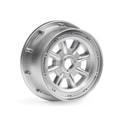 Hpi Racing  ML-8 WHEEL SILVER (120X60MM/2PCS) 115765 2
