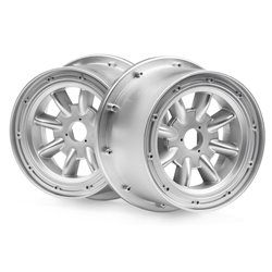 Hpi Racing  ML-8 WHEEL SILVER (120X75MM/2PCS) 115766