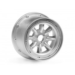 Hpi Racing  ML-8 WHEEL SILVER (120X75MM/2PCS) 115766 2