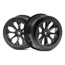 Hpi Racing  8-SHOT SC WHEEL (BLACK/2PCS) 116521