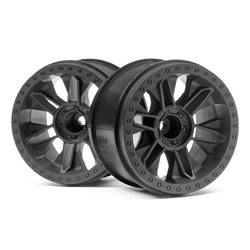 Hpi Racing  6-SHOT ST WHEEL (BLACK/2PCS) 116528
