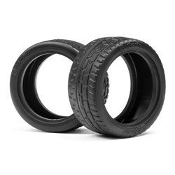 Hpi Racing  HPI WIDE RADIAL GRIP TIRE 31MM (2PCS) 116537